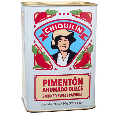 Lata Pimentón<br/>Dulce Ahumado 750g