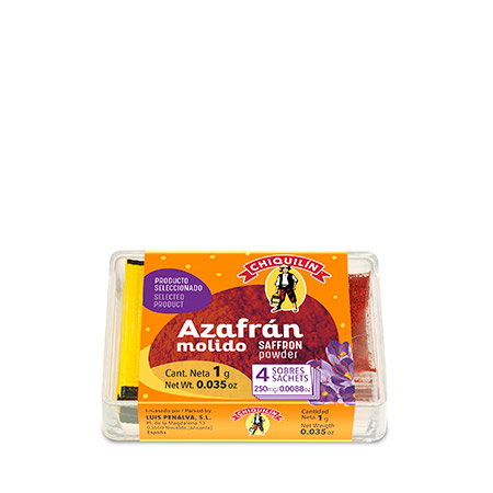 Saffron Powder<br />Plastic case 1g