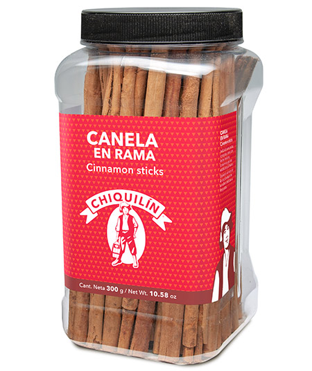 Cinnamon Sticks<br/>Hotel plastic bottle 300g