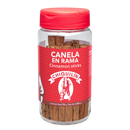 Cinnamon Sticks<br/>Mini plastic jar 75g