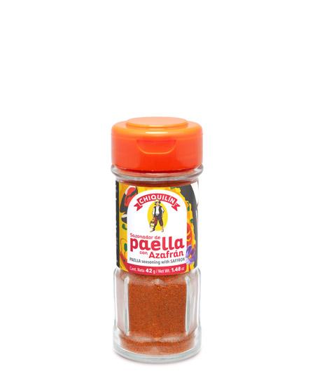 Paella Seasoning with saffron<br/>Glass jar 42g