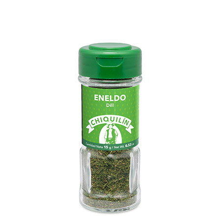 Dill<br/>Glass jar 15g