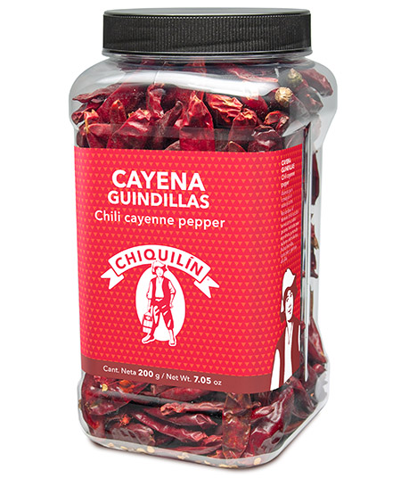 Chilli Cayenne Pepper<br />Hotel plastic bottle 200g