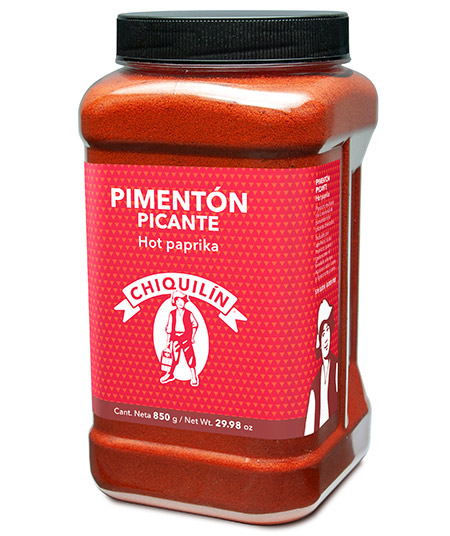 Hot Paprika<br/>Hotel plastic bottle 850g
