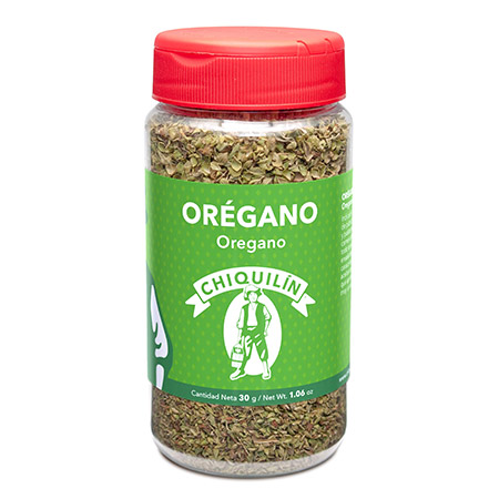 Oregano<br/>Mini plastic jar 30g