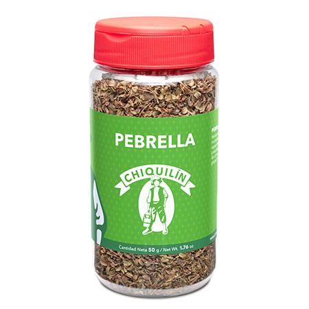 Pebrella<br/>Mini plastic jar 50g