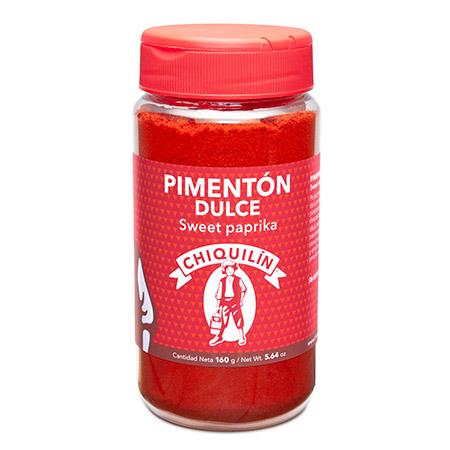 Bote mini Pimentón Dulce 160g