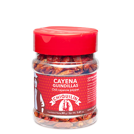 Chilli Cayenne Pepper<br />PM plastic jar 40g
