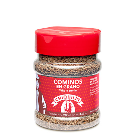 Whole Cumin<br />PM plastic jar 100g