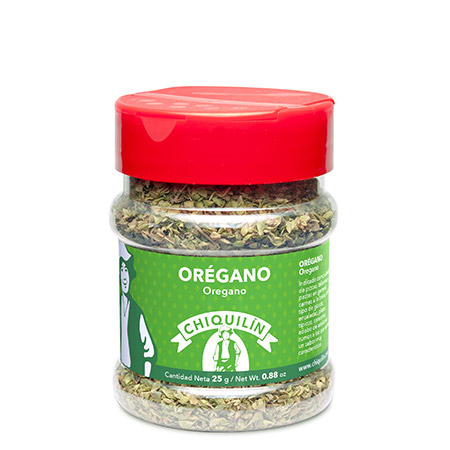 Oregano<br/>PM plastic jar 25g