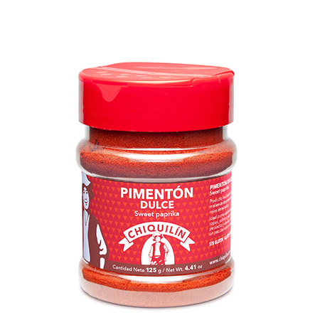 Sweet Paprika<br />PM plastic jar 125g
