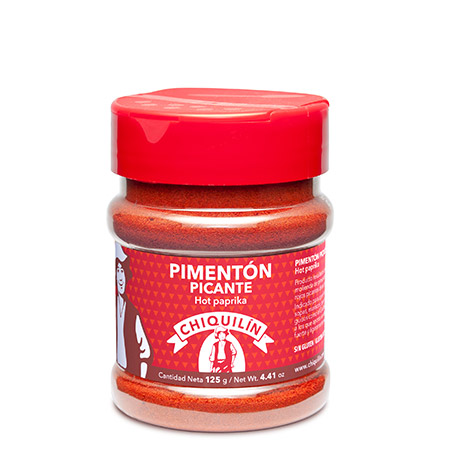 Hot Paprika<br />PM plastic jar 125g