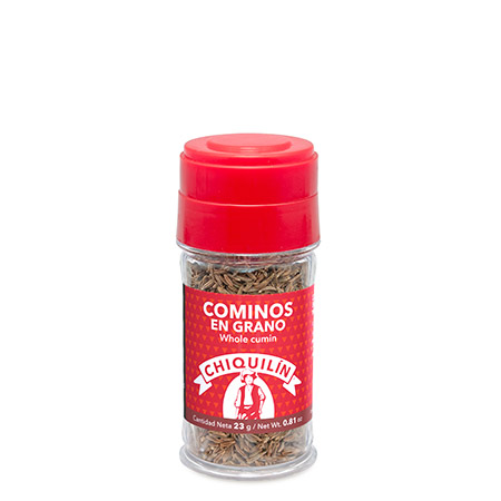 Whole Cumin<br />Plastic jar 23g