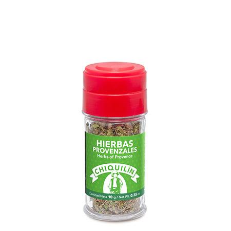 Tarro plástico<br/>Hierbas Provenzales 10g