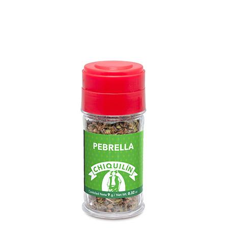 Tarro plástico Pebrella 9g
