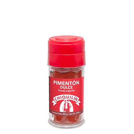 Tarro plástico Pimentón Dulce 32g