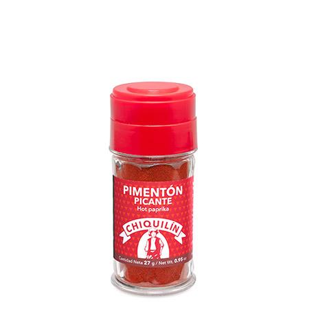 Tarro plástico Pimentón Picante 27g