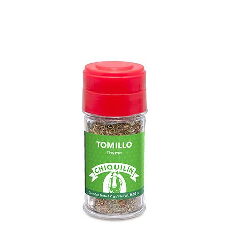 Tarro plástico Tomillo 17g