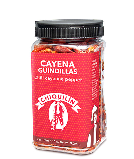 Chilli Cayenne Pepper<br />Restaurant plastic bottle 150g