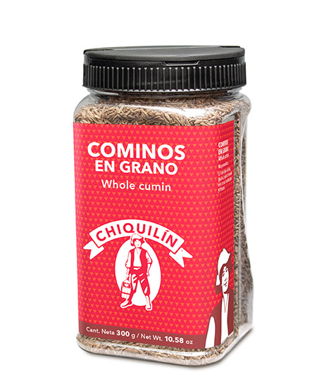Whole Cumin<br />Restaurant plastic bottle 300g