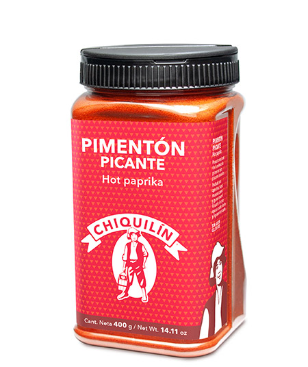 Hot Paprika<br/>Restaurant plastic bottle 400g