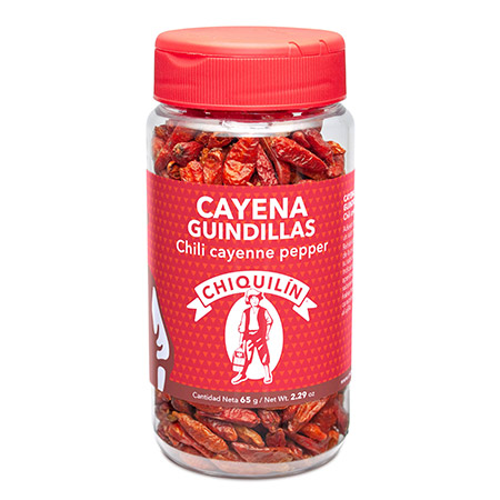 Chilli Cayenne Pepper<br />Mini plastic jar 65g